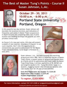 The Best of Master Tung's Points Course II in Portland, Oregon
